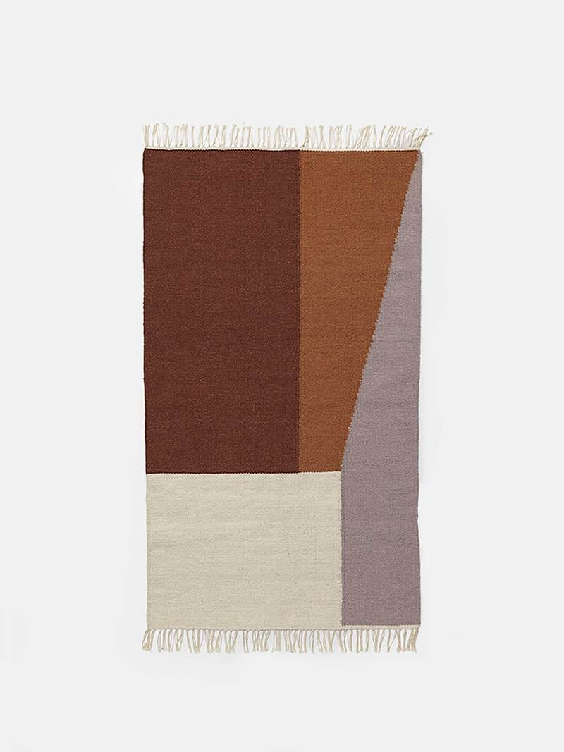 Tapis Kelim Borders - large - FERM LIVING