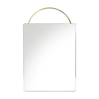 Miroir en laiton Adorn - FERM LIVING