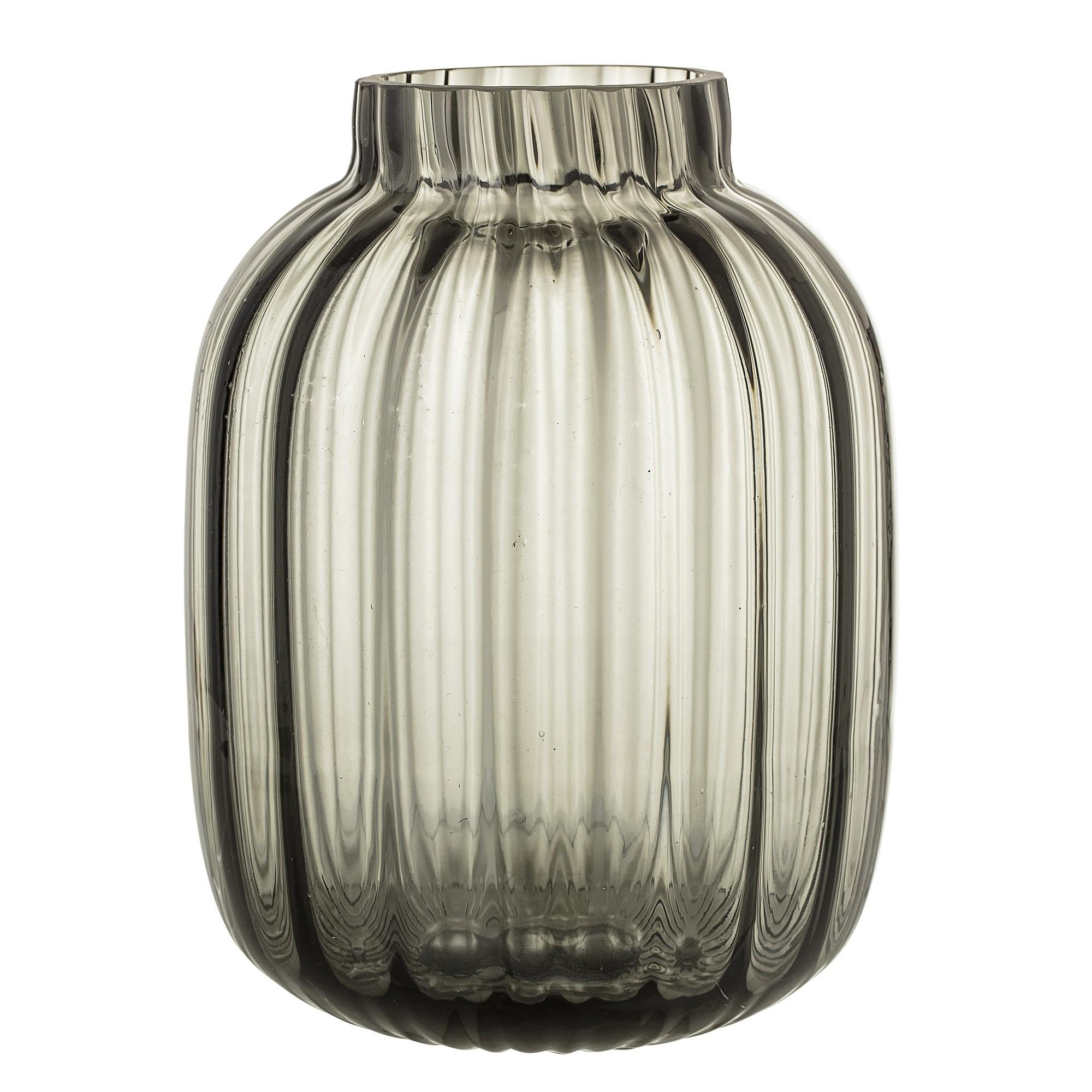 Vase - Grey - Glass