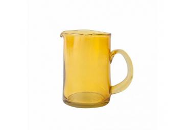 Carafe en verre recyclé jaune - URBAN NATURE CULTURE