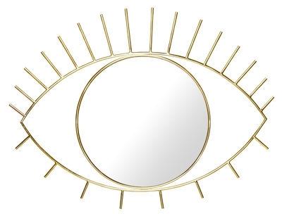 Miroir doré Cyclope - DOIY