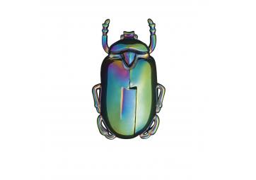 Ouvre-bouteille scarabée irisé - DOIY