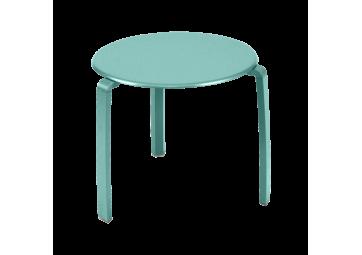 Table basse Alizé bleu lagune - FERMOB