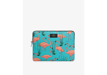 Housse Pink Flamingo macbook 13' - WOOUF