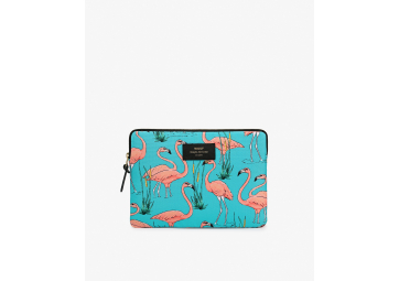 Housse Ipad Pink Flamingo - WOOUF