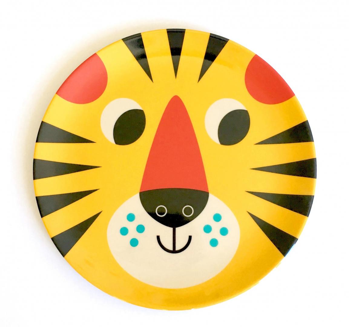 Assiette Tête de Tigre - OMM DESIGN