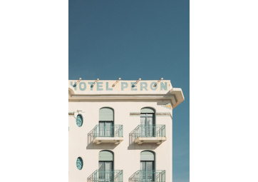 Poster Hôtel Peron - DAVID & DAVID