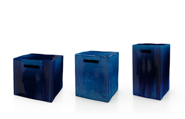 Pouf en céramique Inout 42 - GERVASONI