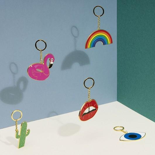 Porte-clé Oversized Rainbow - DOIY