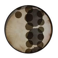 Plateau Slate Layered Dots - NOTRE MONDE