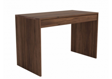 Table de bureau U en noyer - ETHNICRAFT