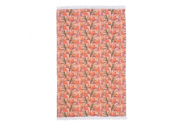 Serviette Digital Flamingo Antique Corail - XL - BALITOWEL