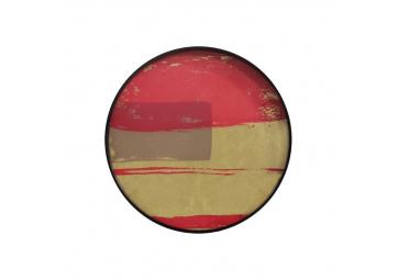 Plateau en verre Raspberry Abstract - NOTRE MONDE