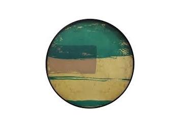 Plateau en verre Turquoise Abstract - NOTRE MONDE