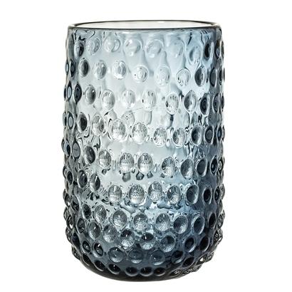 Vase bleu en verre - BLOOMINGVILLE