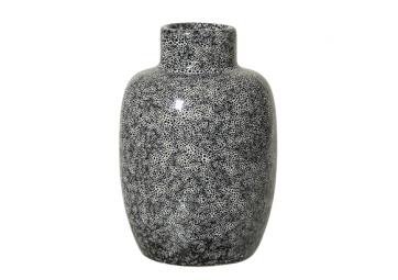 Vase noir en grès - BLOOMINGVILLE