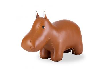 Serre-Livres Hippo marron  - ZUNY