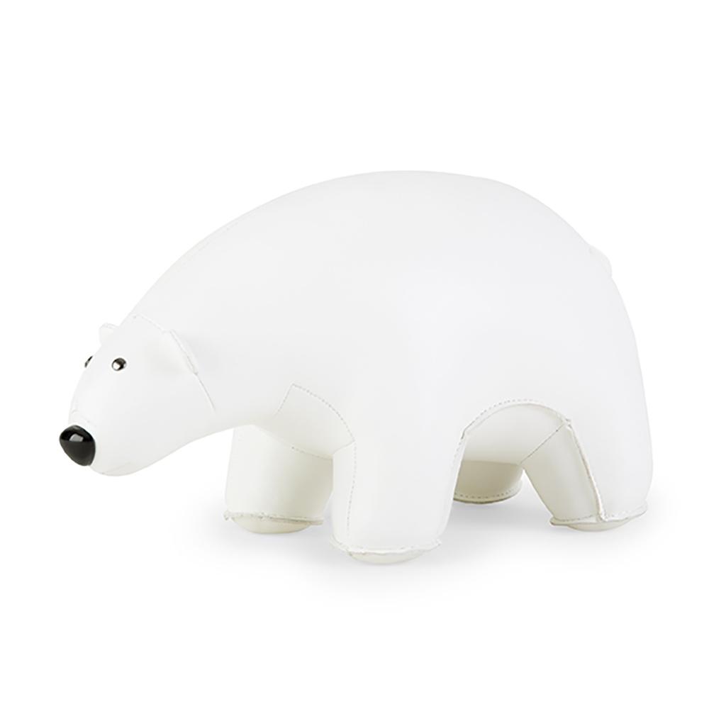 serre-livres design ours polaire zuny