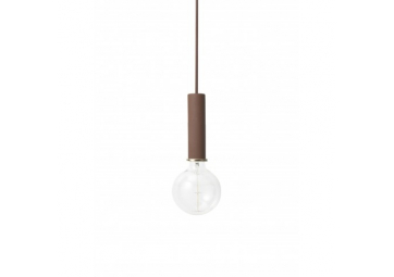 Suspension Socket High Red Brown - FERM LIVING
