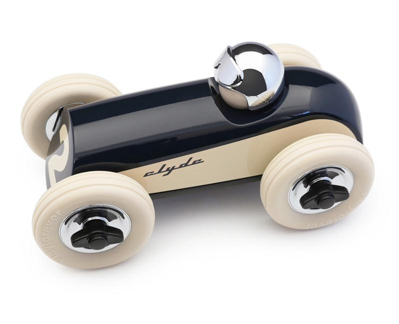 Voiture Clyde bleue nuit - PLAYFOREVER