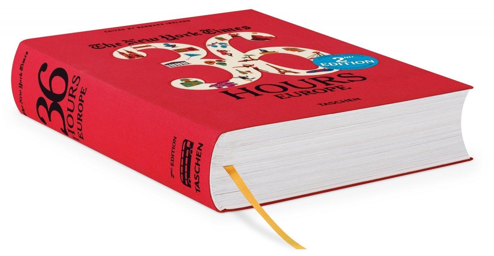 Livre 36h en Europe -2ème édition - TASCHEN