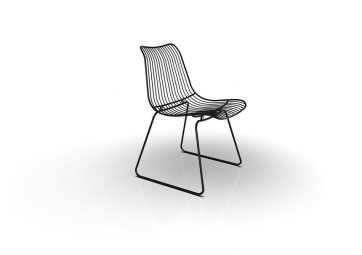 ACCO DINING CHAIR - noire - HOUE