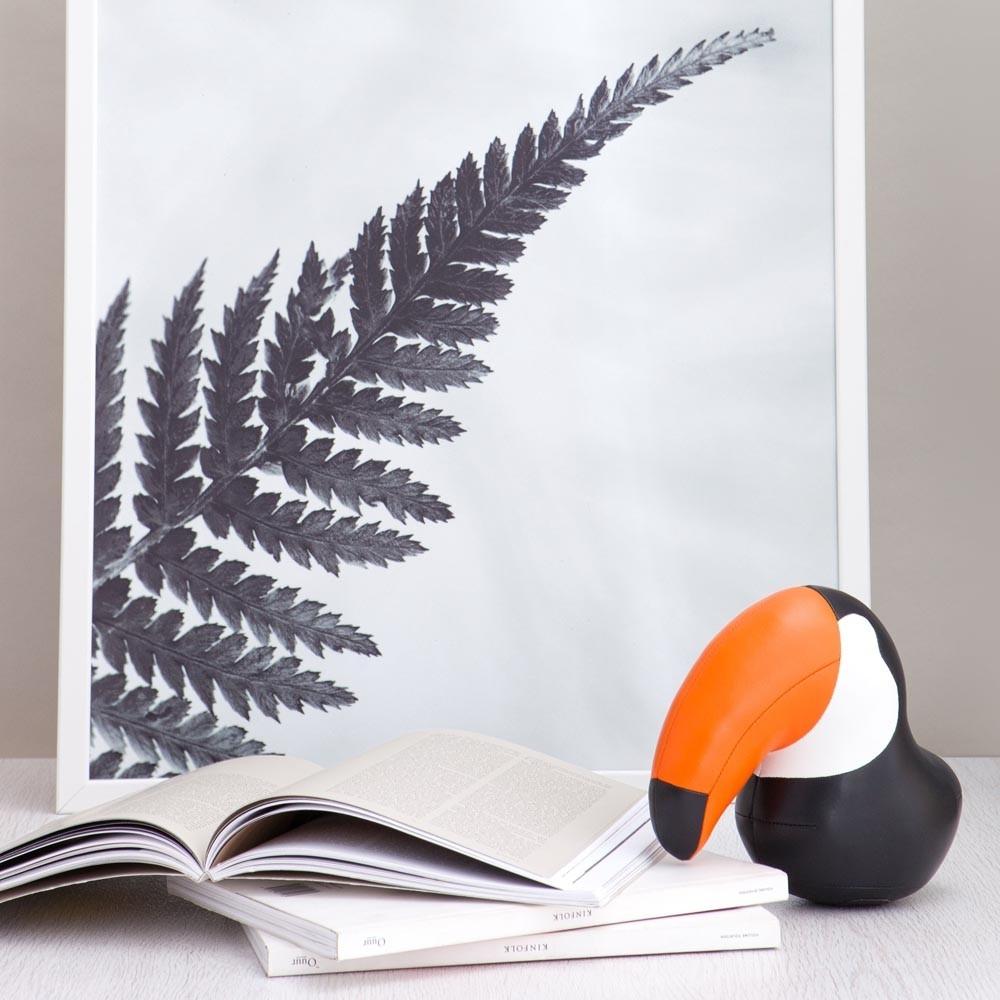 Serre-livres design Toucan - ZUNY