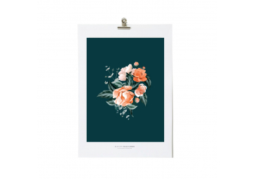 Illustration A3 Floral 03 - MAISON BALUCHON