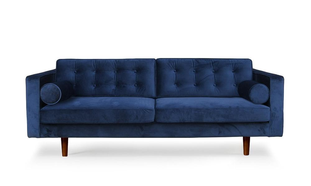 Canapé N101 en velours - ETHNICRAFT