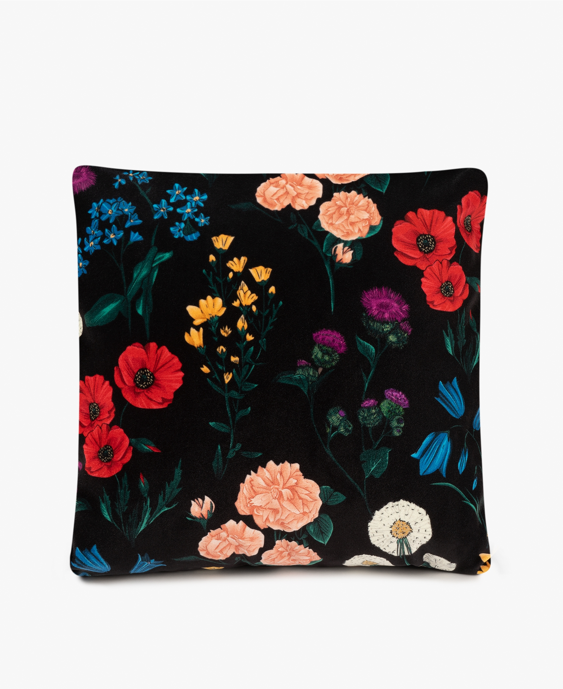 Coussin en velours Blossom - WOUUF