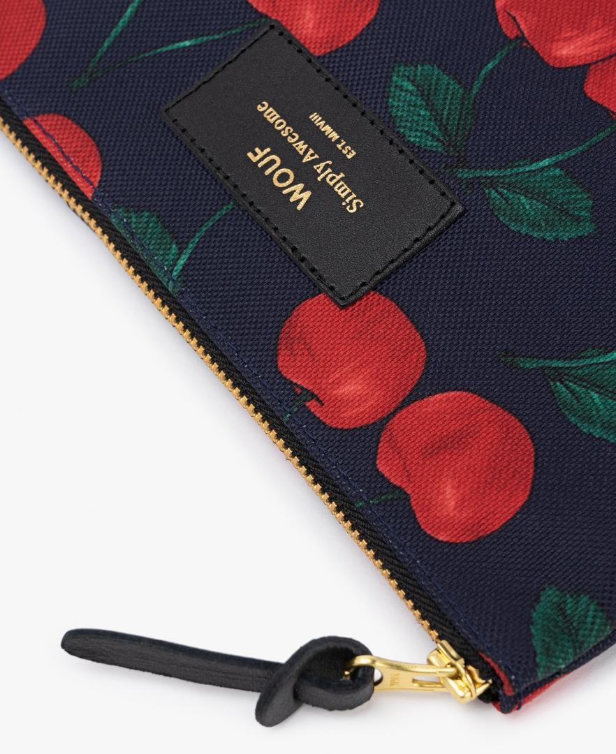 Grande pochette Cherries - WOOUF