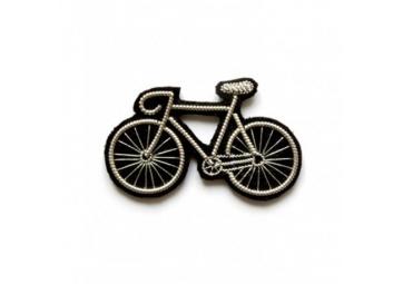 Broche Vélo argenté - MACON & LESQUOY