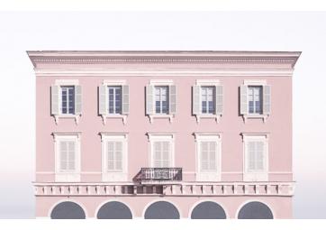 Poster Pink house - DAVID & DAVID