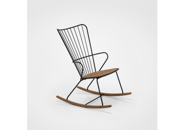 Rocking-chair outdoor Paon - HOUE