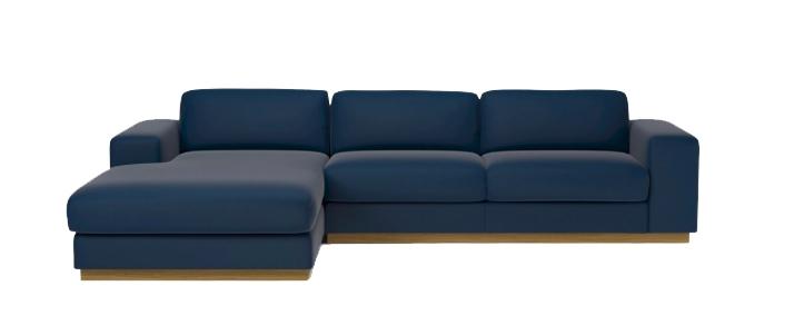 Canapé 3 places Sépia avec mérdienne - COnfort + - BOLIA