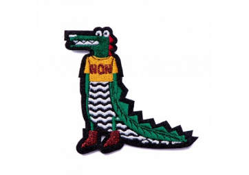 Ecusson Croco Non - MACON & LESQUOY