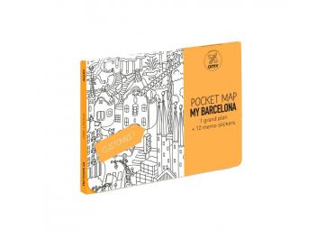 Pocket map Barcelone - OMY