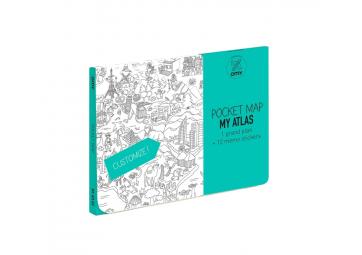 Pocket map Atlas - OMY