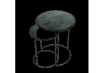 Set de 2 tables basses Nesting - ETHNICRAFT ACCESSOIRES