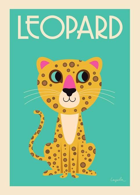 Poster Leopard - OMM DESIGN