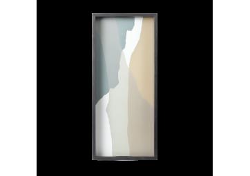 Plateau Slate Wabi Sabi rectangulaire - ETHNICRAFT ACCESSOIRES