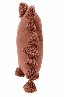 Coussin pompon en coton - BLOOMINGVILLE