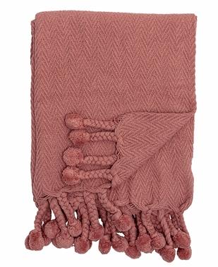 Plaid rouge en coton - BLOOMINGVILLE