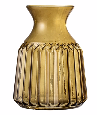 Vase marron en verre - BLOOMINGVILLE