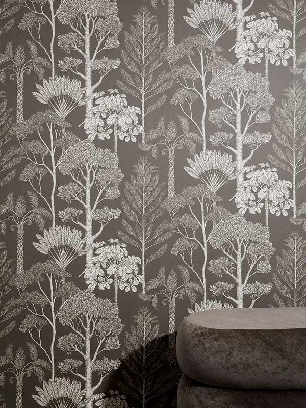 Papier peint Kattie Scott - Trees - FERM LIVING
