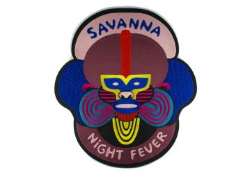 Ecusson géant Savanna NIght Fever - MACON & LESQUOY