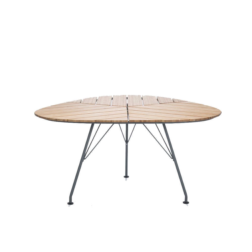 Table de jardin en bambou Leaf by Houe