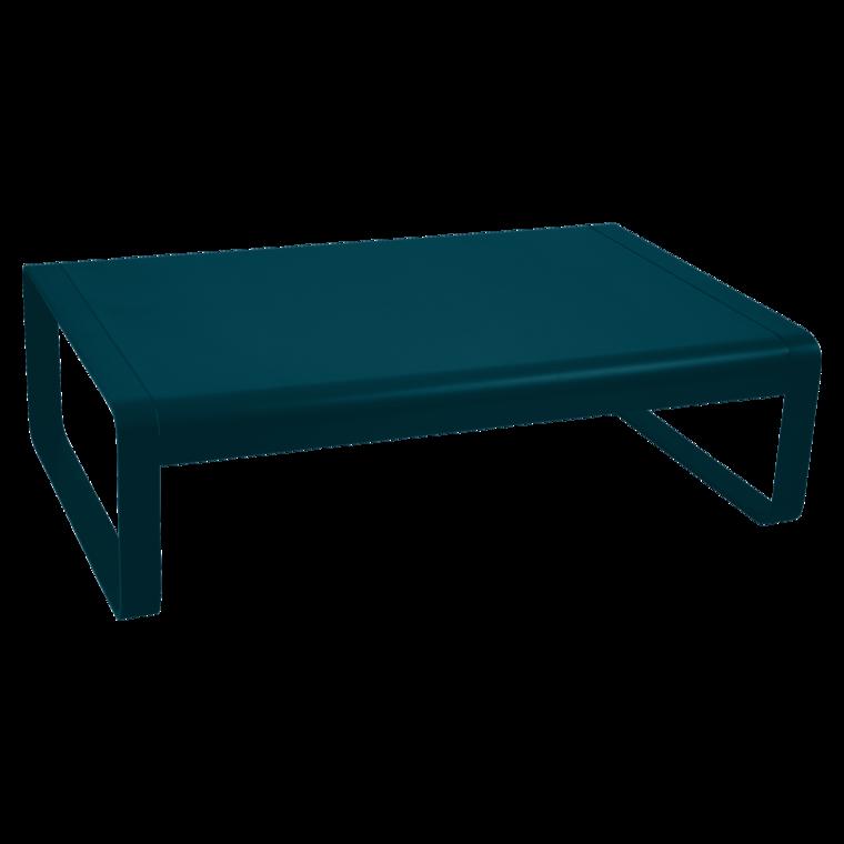 Table basse Bellevie bleu lagune - FERMOB