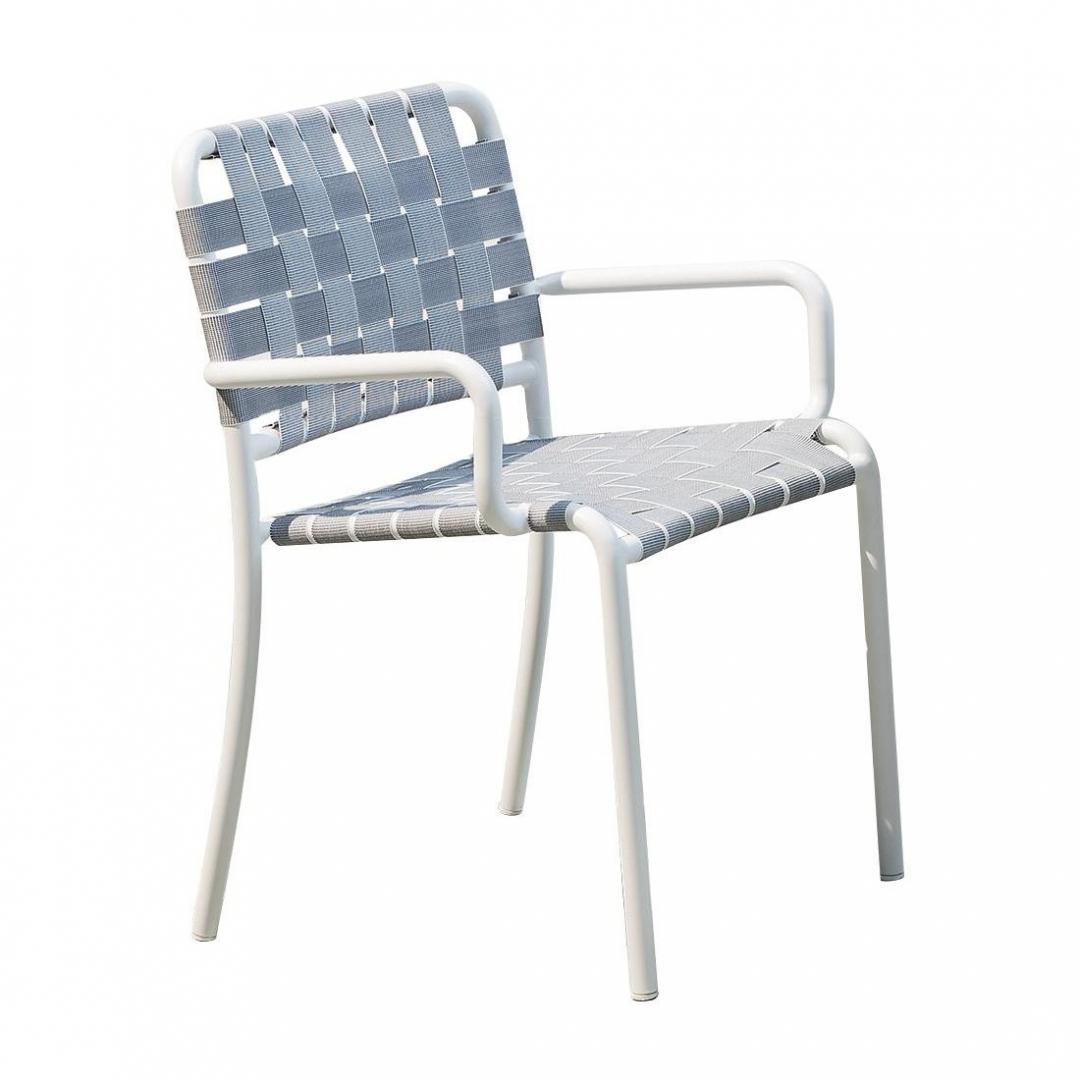 Chaise avec accoudoir INOUT 824C - GERVASONI