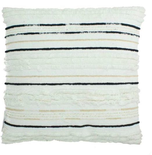 Coussin en coton blanc - KERSTEN